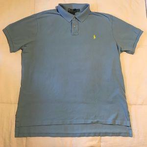 """Men's """"Custom Fit"""" Ralph Lauren Polo Shirt"""